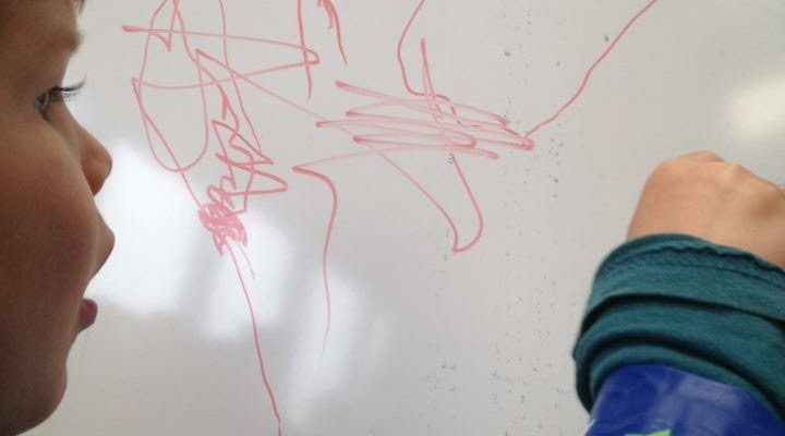 Kinderen kunnen meedoen met een workshop schilderen