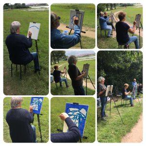 schilderen aan de IJssel